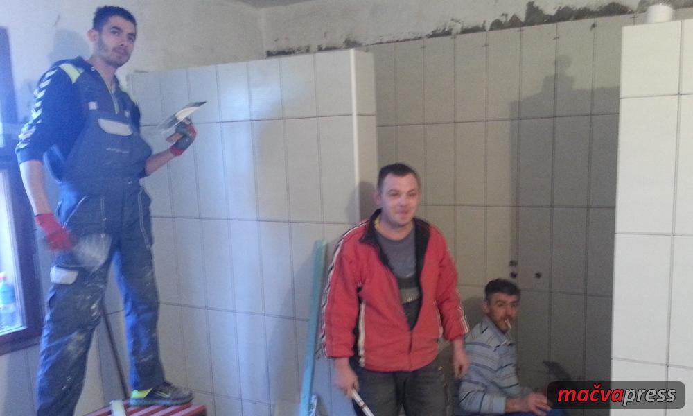 """Dublje igraliste - Rekonstrukcija svlačionica FK """"Mladi Borac"""" u Dublju"""