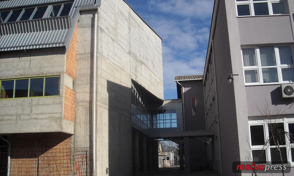 Sala Macva Press - Posle pet godina: fiskulturna sala biće završena u maju