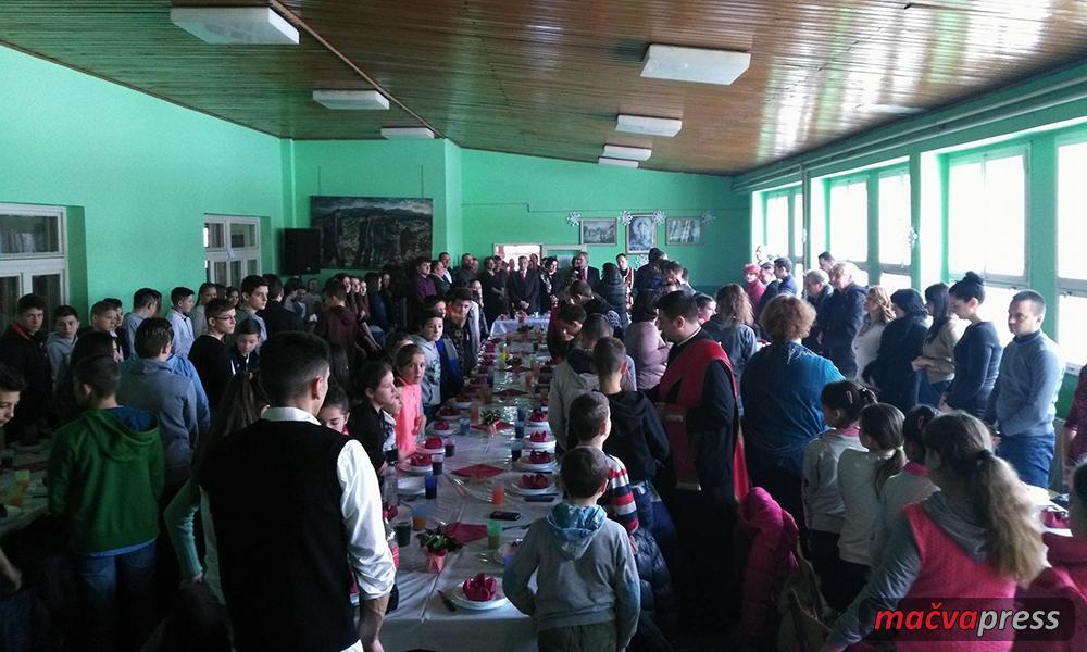 Sveti Sava u Bogaticu - Школе прославиле Дан Светог Саве